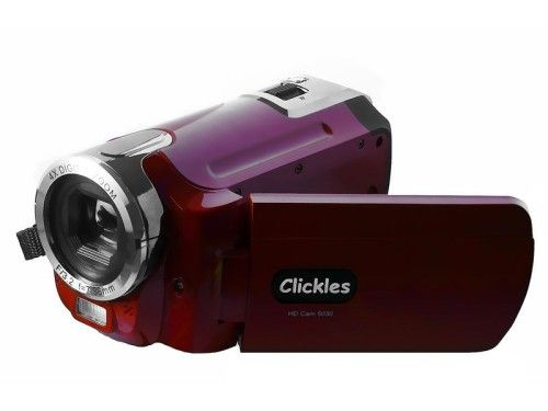 Clickles HD Cam 5030 (Rouge)