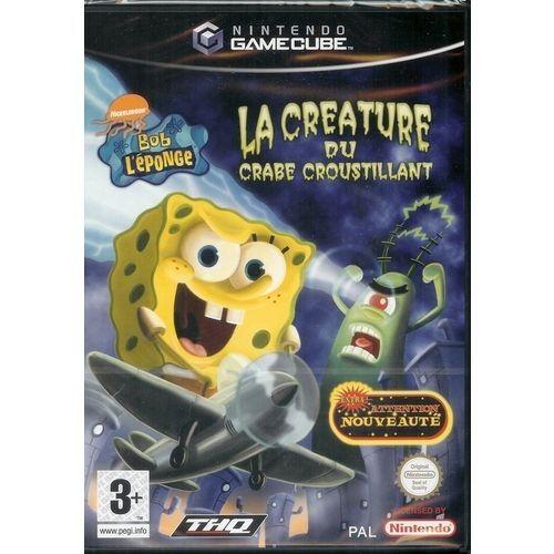 Bob L'Eponge : la Créature du Crabe Croustillant - Game Cube