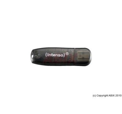 Intenso Rainbow line color 16Go (Black)
