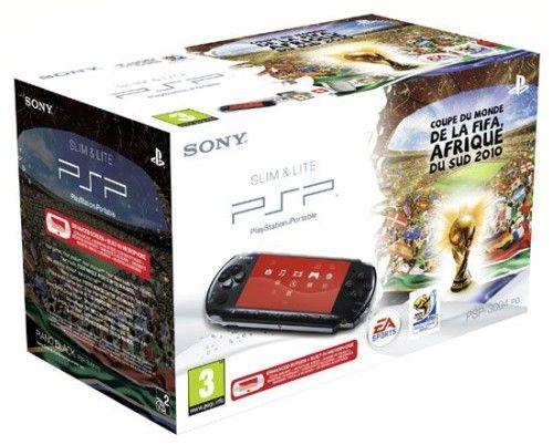 Sony PSP 3000 Slim & Lite (Black) + Coupe du Monde Fifa 2010