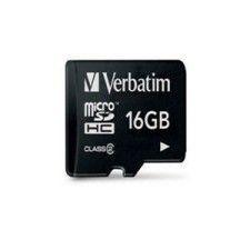 Verbatim Micro SDHC 16Go Class 2