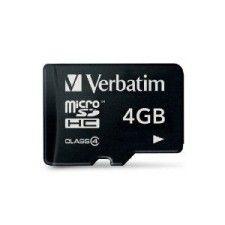 Verbatim Micro SDHC 4Go Class 4