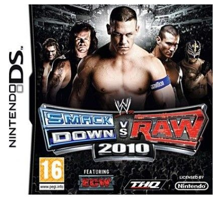 WWE SmackDown vs Raw 2010 - Nintendo DS