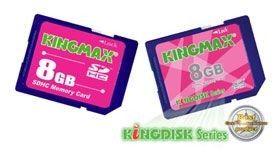 Kingmax SDHC 8Go (Class 2)