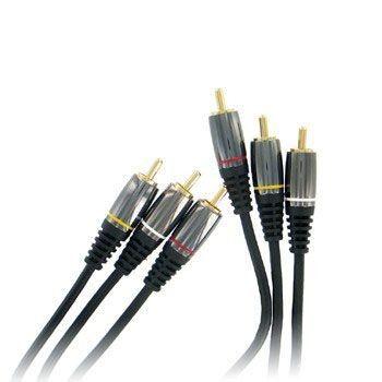 Thomson HCINE KD2201 - Câble Vidéo composante mâle/mâle - 1 m