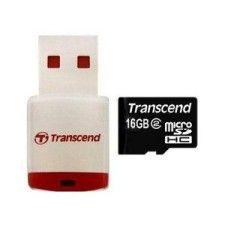 Transcend Micro SDHC 16Go Class 2