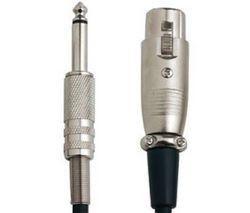 Bandridge Câble Jack 6,3mm mâle - XLR 5m