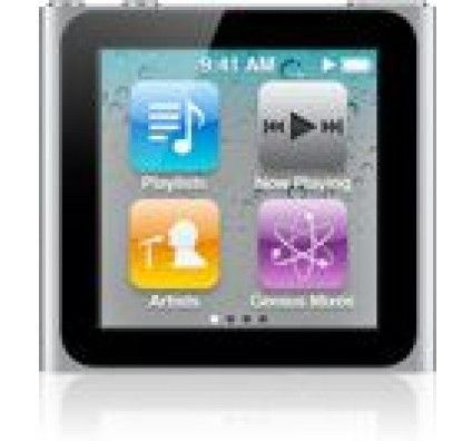 Apple iPod Nano 6G 8Go (Silver)