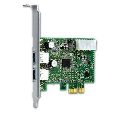 Freecom carte PCIe - USB 3.0 (2 ports)