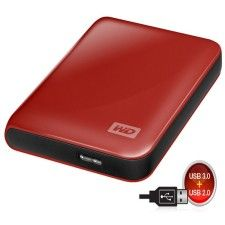 WD My Passport Essential 3.0 500Go (Rouge)