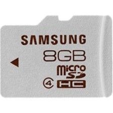Samsung Micro SDHC 8Go Class 4