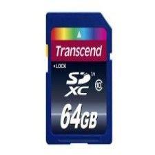 Transcend SDXC 64Go Class 10