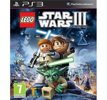 Lego Star Wars III - The Clone Wars - PS3