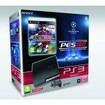 Sony Playstation 3 Slim 320Go + PES 2011