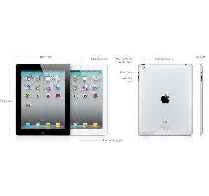 Apple iPad 2 64Go (Blanc) Wifi + 3G
