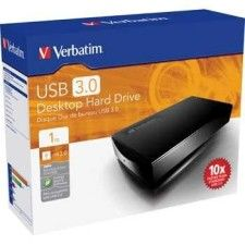 Verbatim 1To Desktop Hard Drive 3.5'' (USB 3.0)