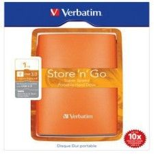 Verbatim Store 'n' Go Portable 500Go Orange (USB 3.0)