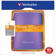 Verbatim Store 'n' Go Portable 500Go Violet (USB 3.0)