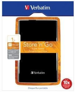 Verbatim Store 'n' Go Portable 1To Black (USB 3.0)
