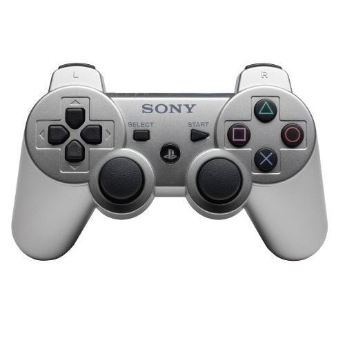 Sony Manette Sixaxis Dual Shock 3 Silver PS3