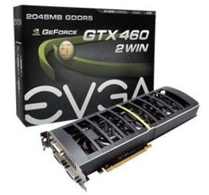 Evga GeForce GTX 460 2Win 1Go