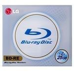 LG BD-RE 25 Go - 2x (Boite CD x1)