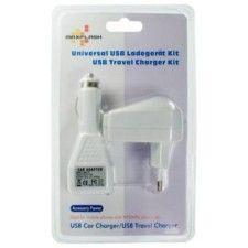 Adaptateur USB Allume Cigare - secteur