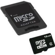 Extrememory Micro SDHC 16Go + Adaptateur