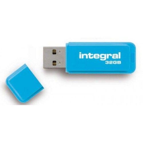 Integral 32Go Fluo (Bleu)