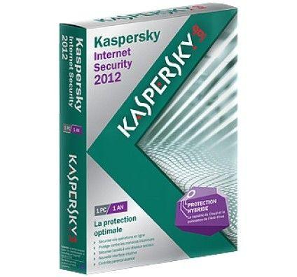Kaspersky Internet Security 2012 màj - 1 poste