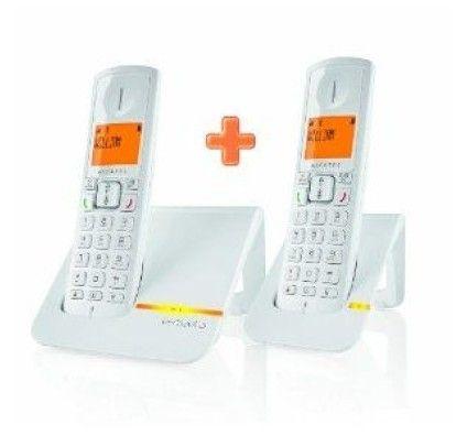 Alcatel Versatis F200 Duo (Blanc)