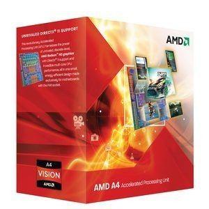 AMD A4-3300 - 2.5Ghz (Socket FM1)