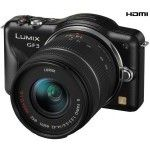Panasonic Lumix DMC-GF3 (Black) + 14-42mm