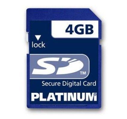 Bestmedia Platinum SD Card 4Go
