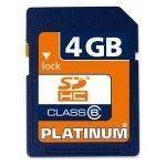 Bestmedia Platinum SDHC Card 4Go