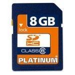 Bestmedia Platinum SDHC Card 8Go