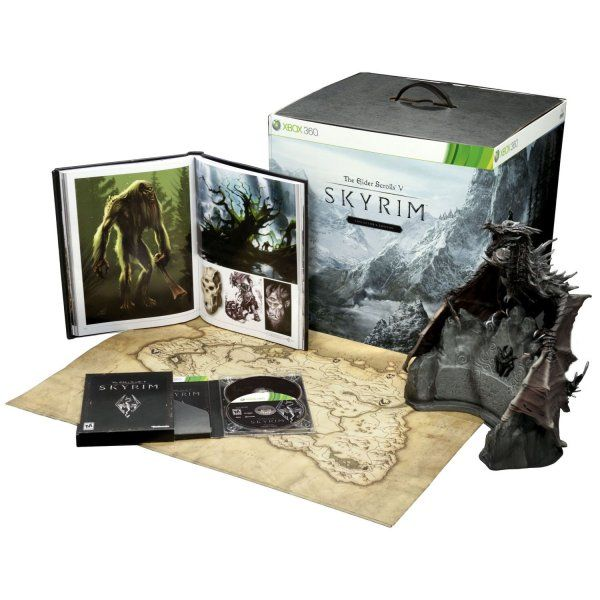 The Elder Scrolls V : Skyrim - Edition Collector Xbox 360