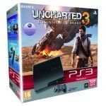 Sony Playstation 3 Slim 320Go + Uncharted 3 : L'illusion de Drake