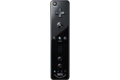 Nintendo Wiimote Plus Noire + Wii MotionPlus intégrée