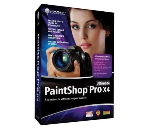 Corel PaintShop Pro X4 Ultimate - PC