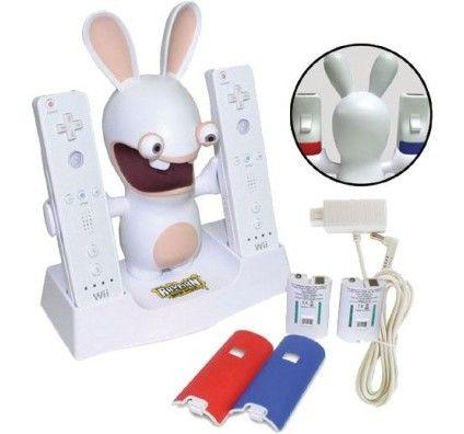 MadCatz Station de Charge Lapins Crétins pour Wii