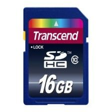 Transcend SDHC 16Go Class 10