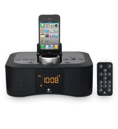 Logitech Clock Radio Dock S400i