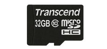 Transcend Micro SDHC 32Go Class 10