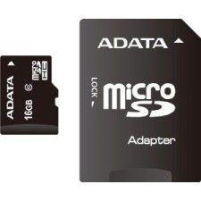 A-Data Micro SDHC 16Go Class 10 + Adaptateur SD