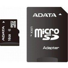 A-Data Micro SDHC 16Go Class 4 + Adaptateur SD