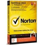 Norton Antivirus 2012 1 poste - PC
