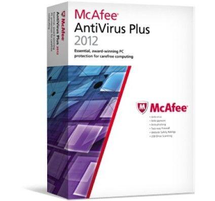 McAfee antivirus Plus 2012 - 3 postes - PC