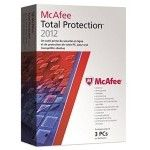 McAfee Total Protection 2012 - 3 postes - PC