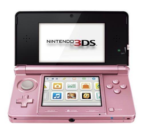 Nintendo 3DS (Rose Corail)